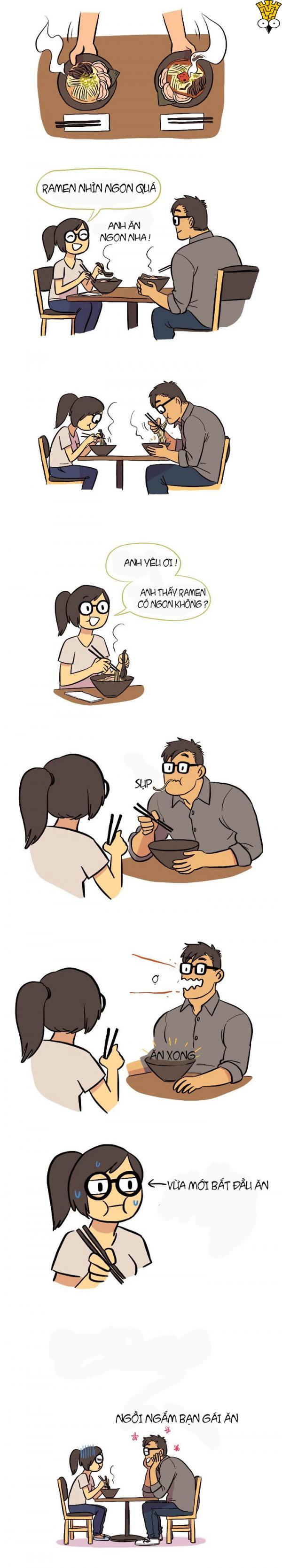 Truyện tranh: Tình yêu giữa chàng I.T và nàng họa sĩ thì như thế nào?