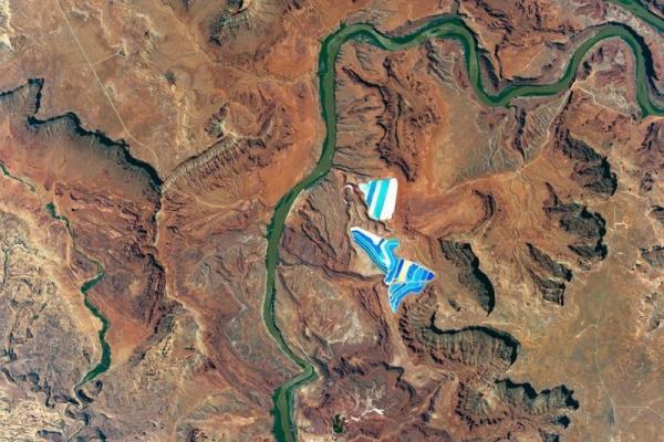 Bộ ảnh đẹp tuyệt vời được chụp từ không gian ngoài vũ trụ