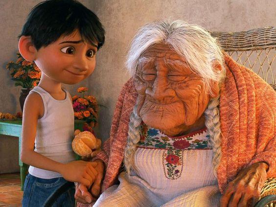 Cụ bà được coi là cảm hứng cho phim 'Coco' lần đầu tiên xuất hiện trước công chúng