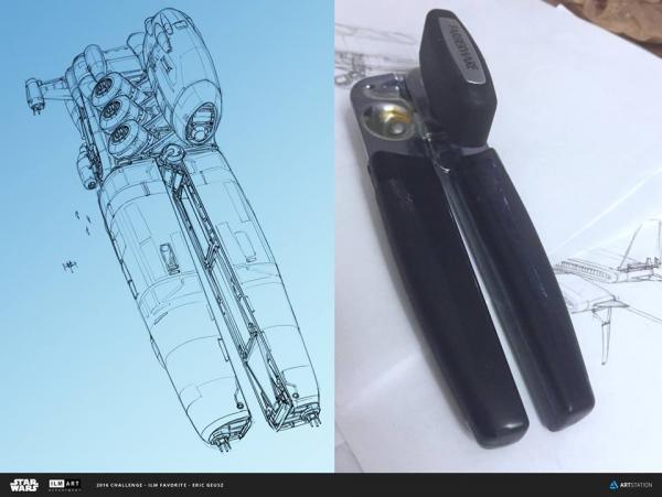 Chàng kỹ sư tạo ra các bản vẽ phi thuyền 'xịn xò' như phim viễn tưởng chỉ từ vật dụng hằng ngày