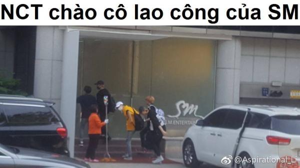 NCT cúi chào cô lao công SM và những câu chuyện nhỏ cảm động về nhân cách vàng của nhóm