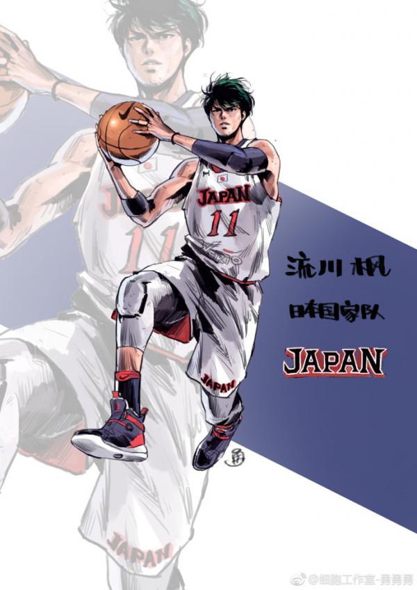 Các nhân vật của manga bóng rổ đình đám 'Slam Dunk' khi trưởng thành trông sẽ thế nào?