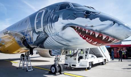 Máy bay 'cosplay' cá mập hầm hố mang nhiều tính năng ưu việt