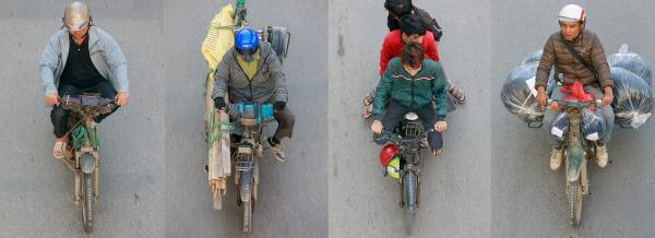 'Những bộ tứ siêu đẳng' của đường phố Hà Nội: Góc nhìn bình dị mà đầy nghệ thuật