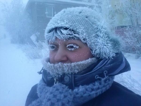 Đón chút không khí lạnh lẽo qua bộ ảnh cả thế giới đóng băng vào mùa đông