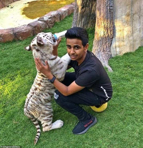 Sở thú ngay trong vườn nhà của đại gia Instagram 16 tuổi