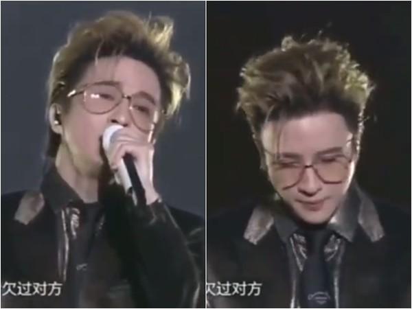 Đang hát say sưa, Tiết Chi Khiêm 'câm nín' giữa chừng khi nghe fan nhắc tên tình cũ Lý Vũ Đồng