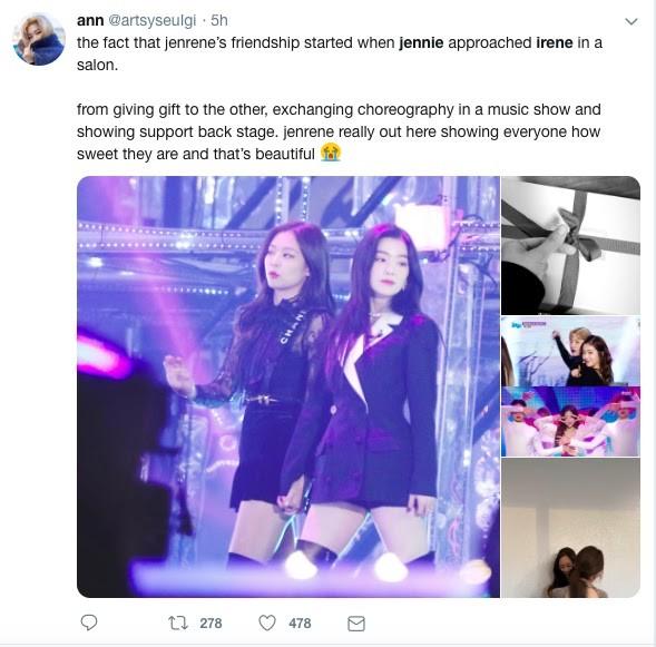 Những bằng chứng cho thấy Irene và Jennie là đôi bạn thân dễ cưng nhất K-Pop