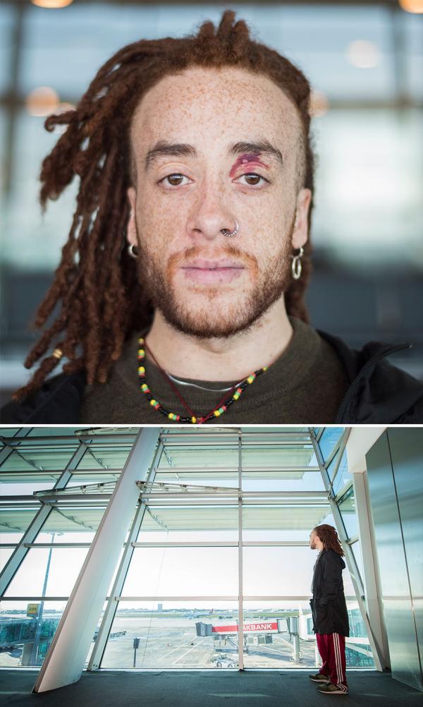 Những nhân dạng độc đáo nhất thế giới do nhiếp ảnh gia Istanbul chụp được ở sân bay
