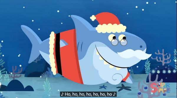 'Baby Shark' đã quay trở lại, lợi hại hơn xưa với phiên bản Giáng sinh 'Santa Shark'
