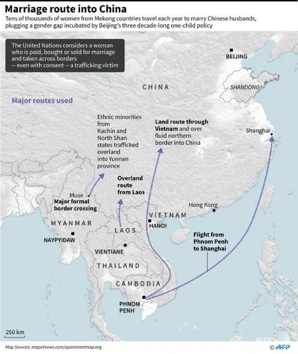 Phụ nữ vùng sông Mekong và nỗi đau bị gia đình bán làm 'nô thê' cho người Trung Quốc