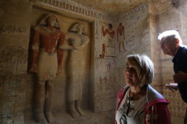 Phát hiện chấn động giới khảo cổ: Tìm thấy hầm mộ 4400 tuổi còn 'nguyên đai nguyên kiện'