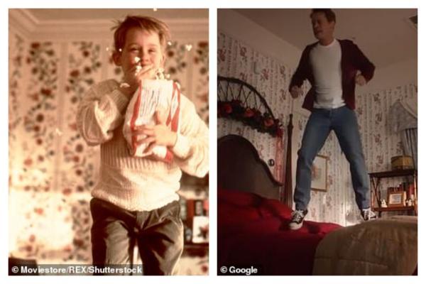 Hoài niệm khi xem Macaulay Culkin 38 tuổi tái hiện y chang cảnh quay 'Ở Nhà Một Mình' 1990
