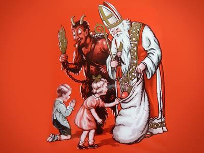 Krampus - Phiên bản đen tối của Santa Claus và cách trừng phạt trẻ hư nghe thôi cũng rùng mình