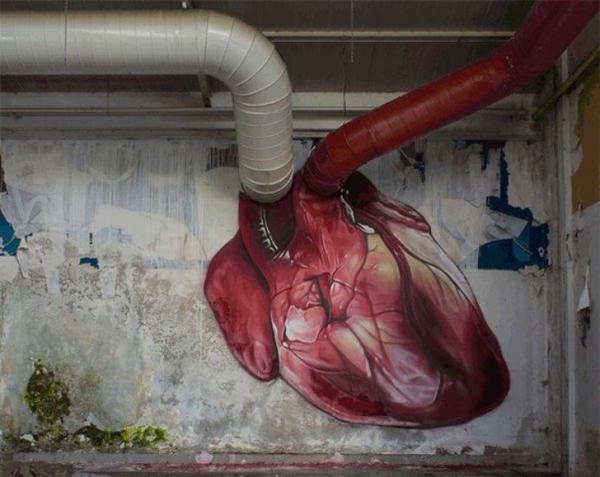 Ngắm nhìn những tác phẩm nghệ thuật đường phố đẹp đến mức 'nín thở'