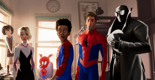 Ly kỳ đằng sau những hình ảnh ảo diệu như đang 'phê' của 'Spider Man: Into the Spider-verse'