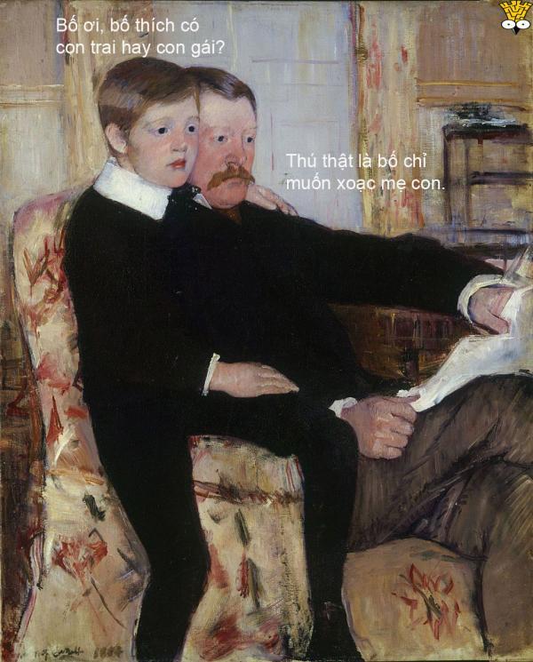 Tuyển tập meme tranh cổ điển: Học lịch sử mỹ thuật chưa bao giờ vui đến thế (Kỳ 1)