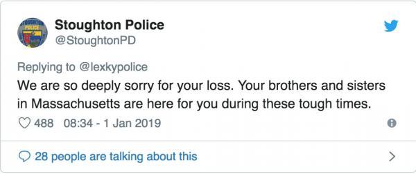 Anh cảnh sát khóc than vì xe chở bánh donut bị bốc cháy, 500 đồng chí vào chia buồn như đúng rồi