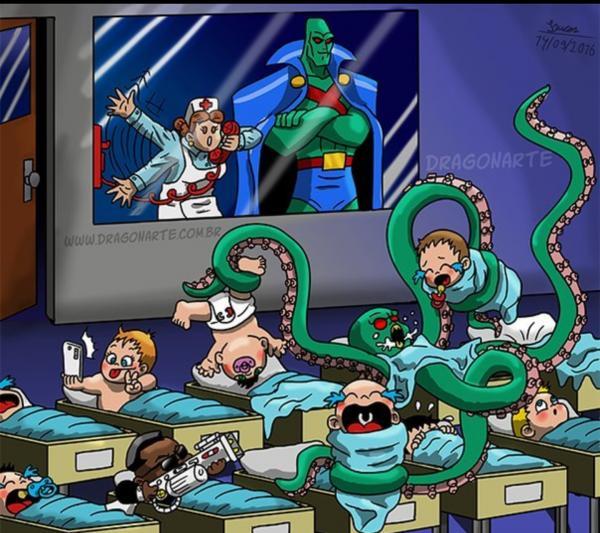Bệnh viện sẽ 'lao đao' như thế nào nếu các siêu anh hùng có con?