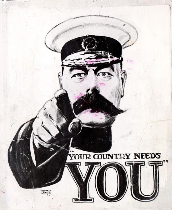'Dậy đi hỡi những bông tuyết lười biếng!': Chiến dịch tuyển quân đầy sáng tạo của quân đội Anh Quốc