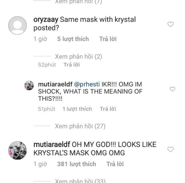 Giữa thời điểm nhạy cảm, Krystal và Suho khiến fan hoang mang khi đăng ảnh giống nhau