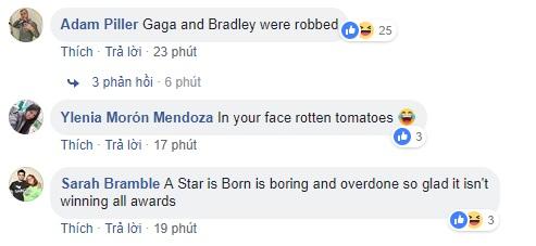 Quả Cầu Vàng 2019: Bohemian Rhapsody chiến thắng bất ngờ, fan của các phim khác ầm ầm phản đối