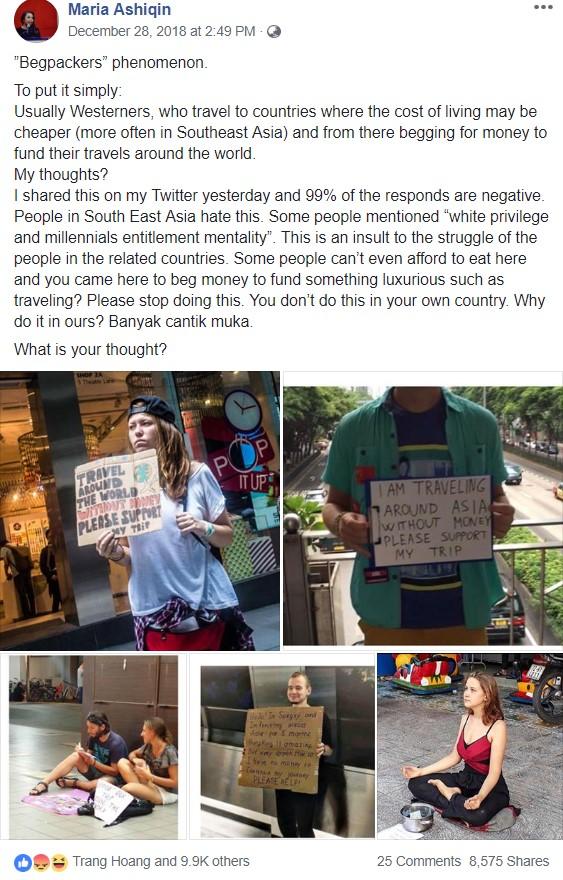 Tây ăn xin để đi du lịch - Chuyện cười ra nước mắt ở các nước châu Á