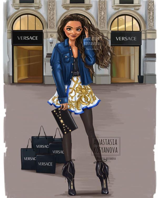 Với khí chất của mình, các công chúa Disney sẽ là người mẫu của thương hiệu thời trang nào?