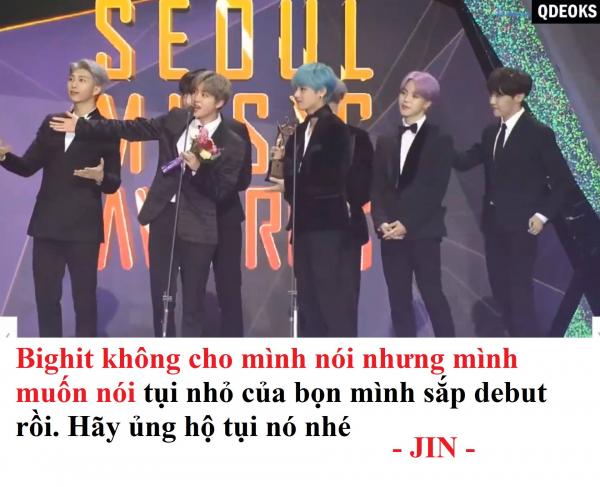 Những phát ngôn hài để đời của Jin (BTS) - quý ông đẹp trai 'dị ứng với sự nghiêm túc'