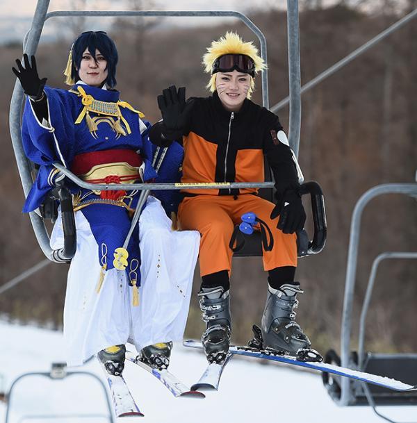 Lễ hội cosplay ở khu trượt tuyết Nhật Bản: Không gì có thể dập tắt ngọn lửa đam mê của các cosplayer