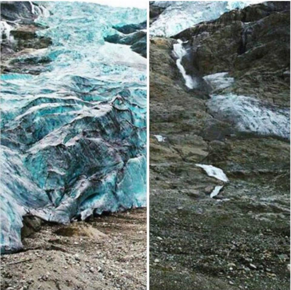 Trái Đất và 'Thử thách 10 năm' - Nghẹn lòng trước sự thay đổi đáng buồn của Mẹ thiên nhiên