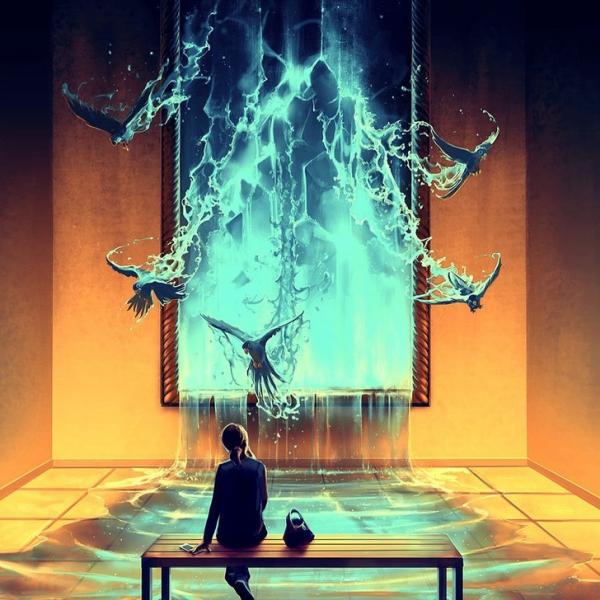 Những bức tranh vẽ lúc rảnh rỗi của một nhà tâm lý học lại khiến ta trầm tư đến thế