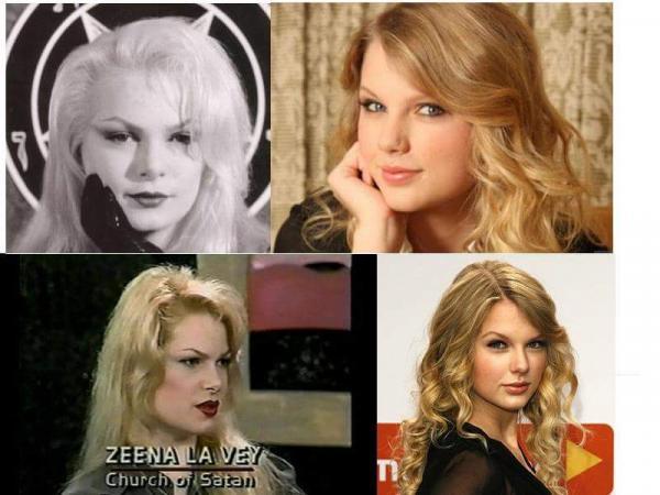 Thuyết âm mưu: Taylor Swift là bản sao nhân bản của trưởng giáo hội Satan?