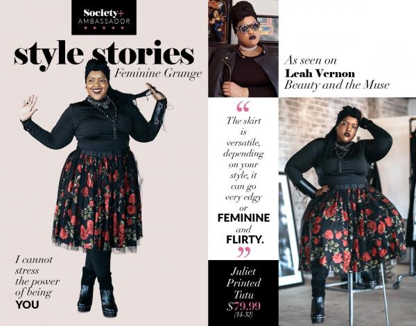Những chị đại Hồi giáo siêu ngầu (P1): Leah Vernon - nàng mẫu ngoại cỡ luôn đội Hijab trên đầu