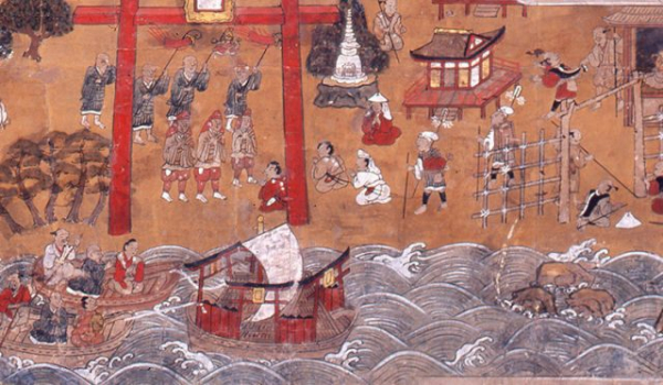 Nghi thức lạ lùng của các thầy tu Nhật Bản: Lên thuyền tìm 'Miền Cực Lạc', một đi không trở lại