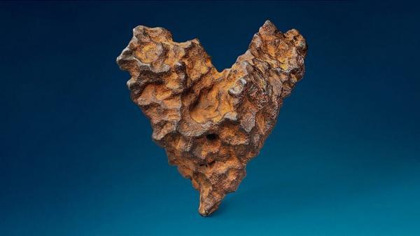 Valentine tặng nhau quà gì: Thiên thạch hình trái tim giá nửa triệu USD?