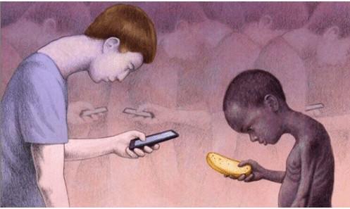 Loạt tranh lột tả sâu sắc sự thật phũ phàng về thế giới ngày nay khiến bạn giật mình