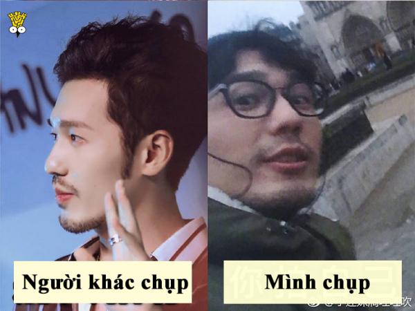 Cười mệt mỏi với loạt ảnh so sánh 'ngươi khác chụp - mình chụp' của các nam thần Châu Á