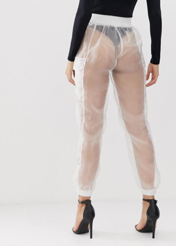 Hãng ASOS vừa cho ra mắt chiếc quần trong suốt, quan trọng là bạn có dám mặc không?