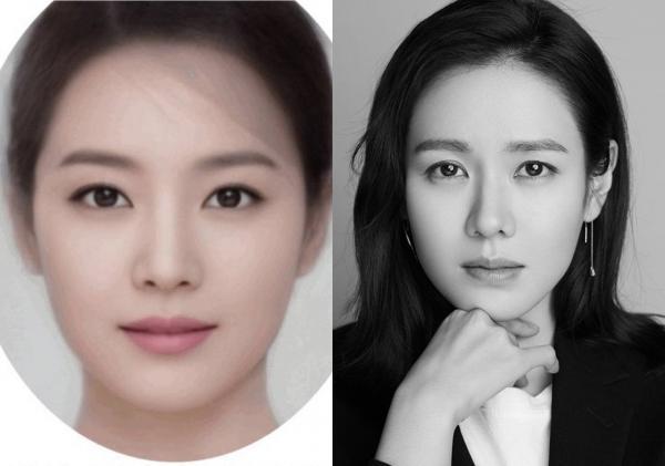 Gương mặt photoshop kết hợp vẻ đẹp của 15 tượng đài nhan sắc Hàn Quốc hoàn mỹ cỡ nào?