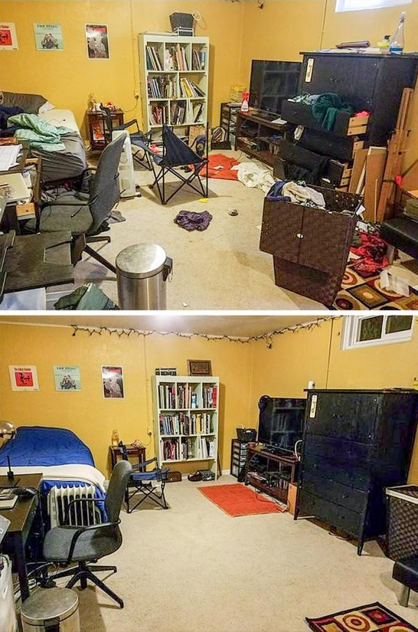 Loạt ảnh tiếp động lực cho team lười làm việc nhà đứng dậy dọn dẹp nhà cửa