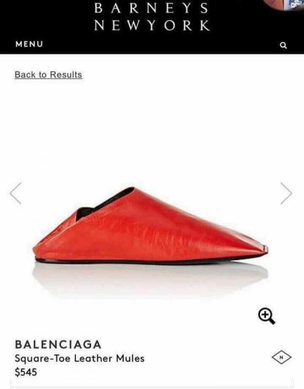 McDonald's 'đá xéo' đôi giày hiệu 13 triệu của Balenciaga