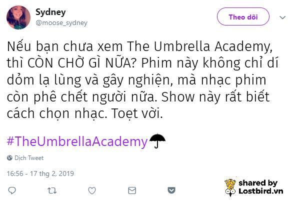 'Học Viện Ô Dù' (The Umbrella Academy) - Hiện tượng mới của làng dị nhân trên Netflix?