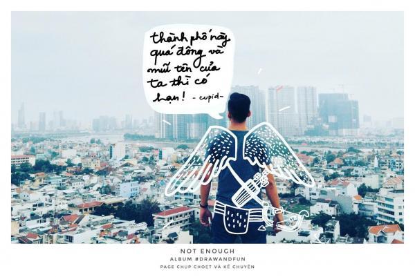 Drawandfun: Kết hợp cả hội hoạ và nhiếp ảnh để mang đến một Sài Gòn bạn chưa bao giờ được thấy