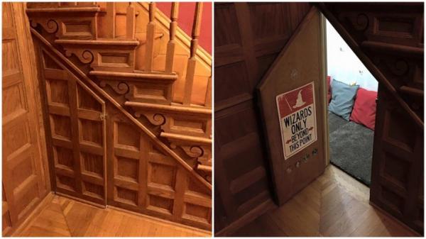 15 ngôi nhà sở hữu 'căn phòng bí mật' thú vị không thua kém gì trường Hogwarts