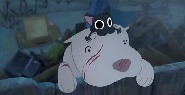 'Kitbull': Phim ngắn cảm động của Pixar về tình bạn giữa chú chó Pitbull và em mèo đường phố