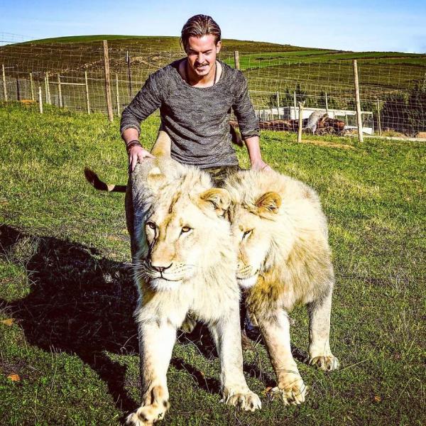 Chàng trai Thụy Sĩ quyết định từ bỏ vinh hoa phú quý, sang Châu Phi giải cứu những loài động vật hoang dã
