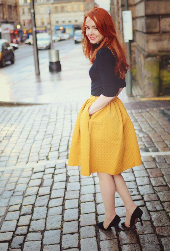 Những 'bí kíp' ngàn vàng để mix giày và chân váy sao cho thật xinh xắn