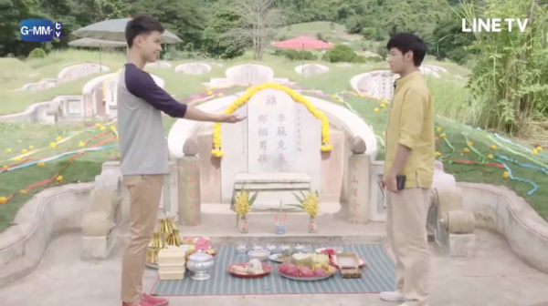 'Cậu Ấy Đi Tiết Thanh Minh Bên Cạnh Mộ Tôi': Đi tảo mộ yêu luôn ma, chuyện tình đồng tính lạ lùng của Thái