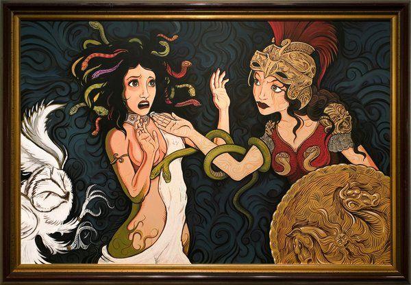 Nữ thần tóc rắn Medusa: Từ cô gái đẹp bị nguyền rủa đến biểu tượng của hãng thời trang nổi tiếng